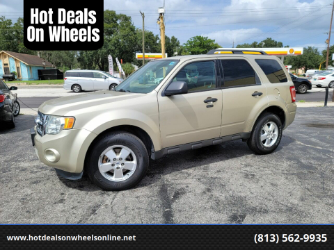 2012 Ford Escape for sale at Hot Deals On Wheels in Tampa FL
