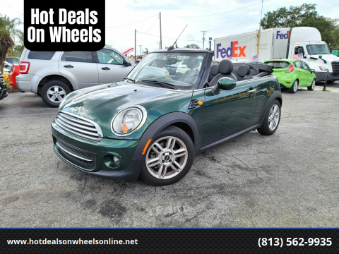 2012 MINI Cooper Convertible for sale at Hot Deals On Wheels in Tampa FL