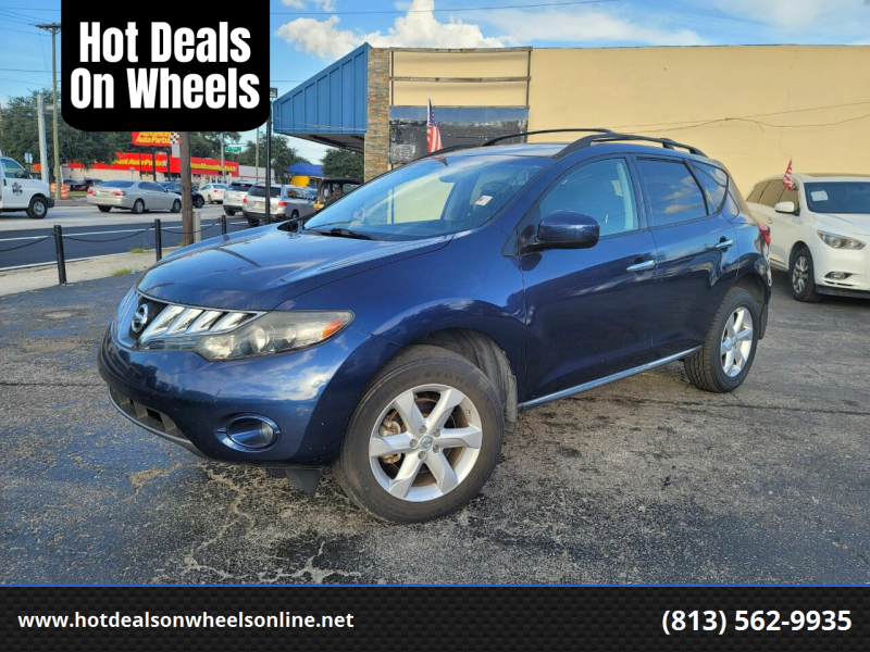 2009 Nissan Murano for sale at Hot Deals On Wheels in Tampa FL