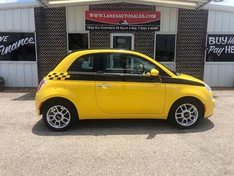 2012 FIAT 500c for sale in Longview, TX