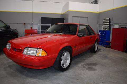 1993 Ford Mustang for sale at Loudoun Motors in Sterling VA