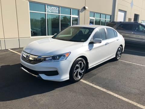 2017 Honda Accord for sale at Loudoun Motors in Sterling VA