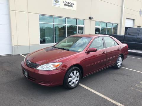 2002 Toyota Camry for sale at Loudoun Motors in Sterling VA
