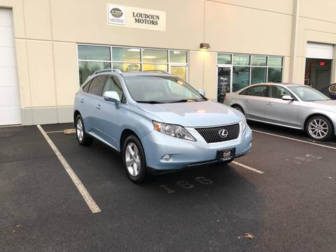 2011 Lexus RX 350 for sale at Loudoun Motors in Sterling VA