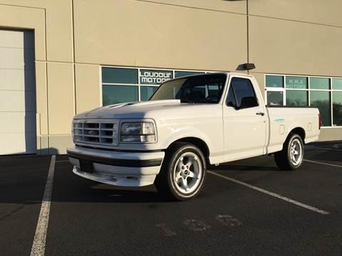 1994 Ford F-150 SVT Lightning for sale at Loudoun Motors in Sterling VA