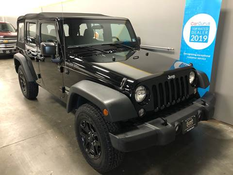2016 Jeep Wrangler Unlimited for sale at Loudoun Motors in Sterling VA