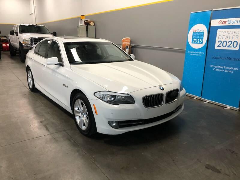 2013 BMW 5 Series for sale at Loudoun Motors in Sterling VA