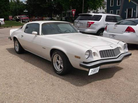 Chevrolet Camaro For Sale In Lewiston Mn D R S Classic Cars