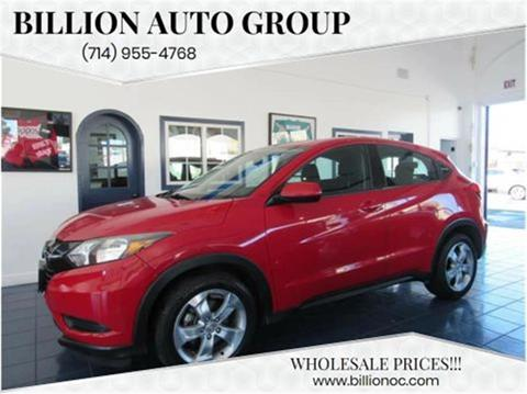 2016 Honda HR-V for sale in Santa Ana, CA