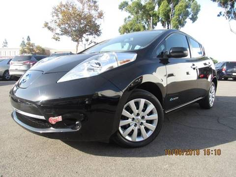 2016 Nissan LEAF for sale in Santa Ana, CA