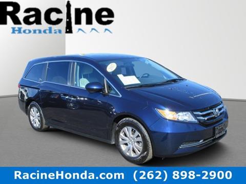 Honda Of Racine >> 2017 Honda Odyssey For Sale In Racine Wi