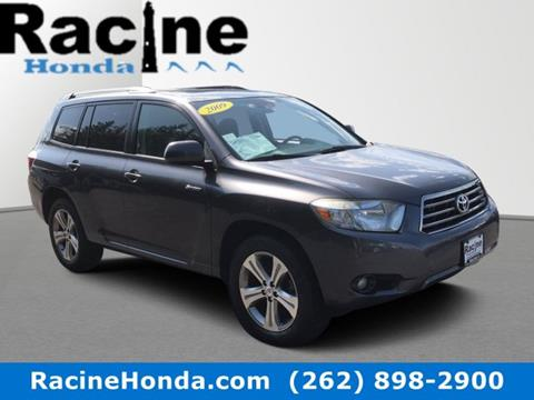 2009 Toyota Highlander for sale in Racine, WI