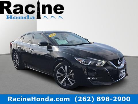 2016 Nissan Maxima for sale in Racine, WI