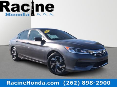 2016 Honda Accord for sale in Racine, WI