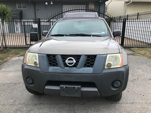2006 Nissan Xterra for sale at ALL STAR MOTORS INC in Houston TX