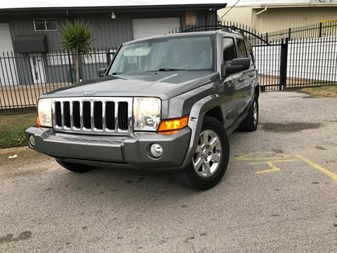 2007 Jeep Commander for sale at ALL STAR MOTORS INC in Houston TX