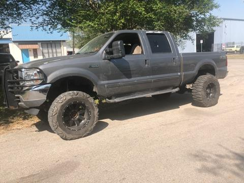 2001 Ford F-250 Super Duty for sale at ALL STAR MOTORS INC in Houston TX