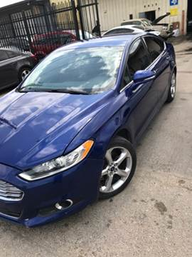 2013 Ford Fusion for sale at ALL STAR MOTORS INC in Houston TX