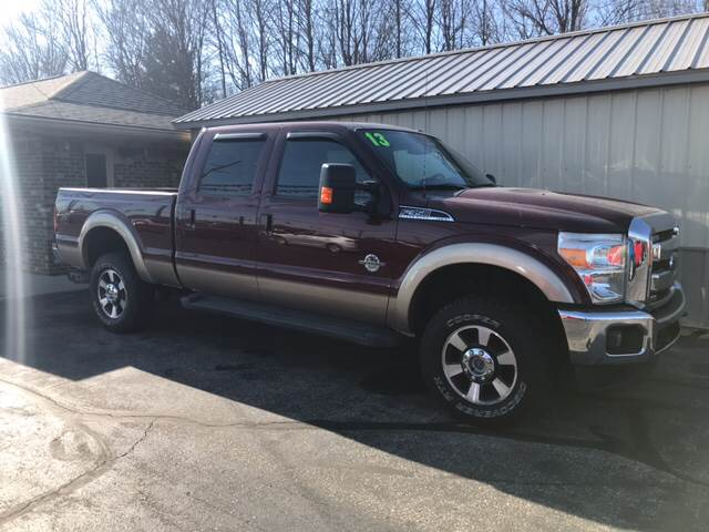 2013 ford f-350 super duty lariat in camby in - tri-county motors