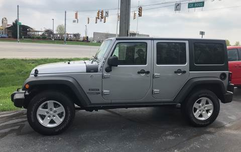2018 Jeep Wrangler Unlimited for sale in Camby, IN
