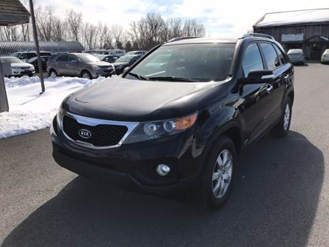 2012 Kia Sorento for sale at Paul Hiltbrand Auto Sales LTD in Cicero NY