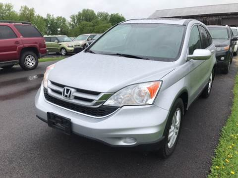 2010 Honda CR-V for sale at Paul Hiltbrand Auto Sales LTD in Cicero NY