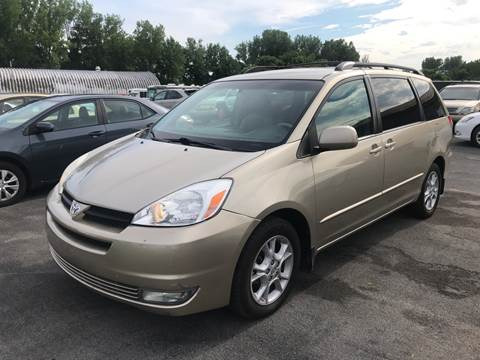 2005 Toyota Sienna for sale at Paul Hiltbrand Auto Sales LTD in Cicero NY