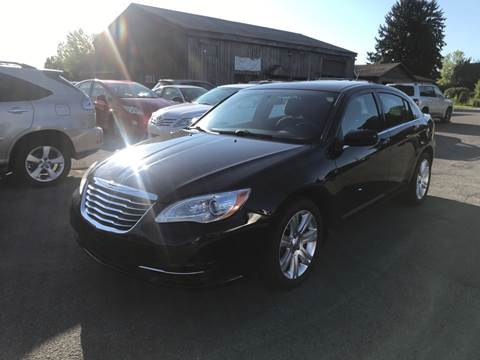 2012 Chrysler 200 for sale at Paul Hiltbrand Auto Sales LTD in Cicero NY