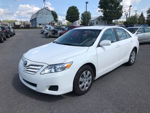2010 Toyota Camry for sale at Paul Hiltbrand Auto Sales LTD in Cicero NY