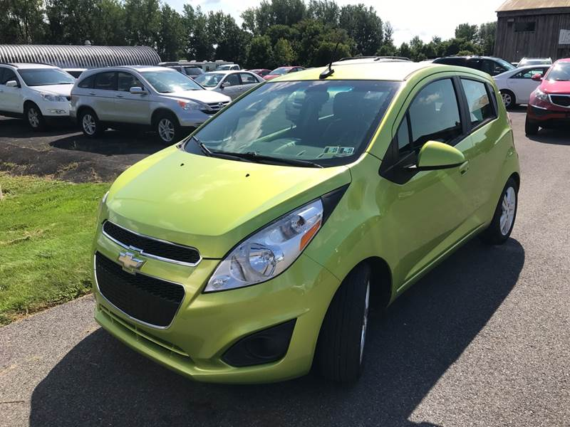 2014 Chevrolet Spark for sale at Paul Hiltbrand Auto Sales LTD in Cicero NY