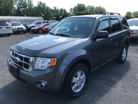 2010 Ford Escape for sale at Paul Hiltbrand Auto Sales LTD in Cicero NY