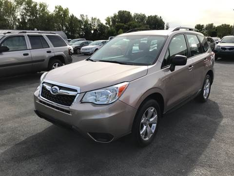 2015 Subaru Forester for sale at Paul Hiltbrand Auto Sales LTD in Cicero NY