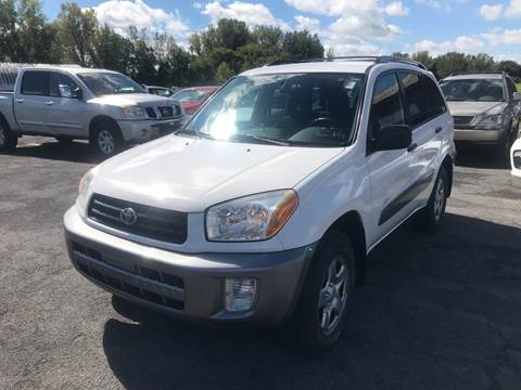 2002 Toyota RAV4 for sale at Paul Hiltbrand Auto Sales LTD in Cicero NY