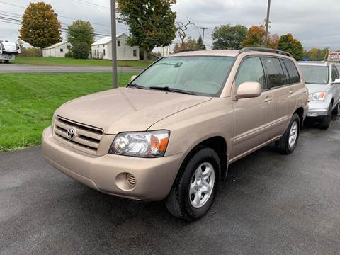 2005 Toyota Highlander for sale at Paul Hiltbrand Auto Sales LTD in Cicero NY
