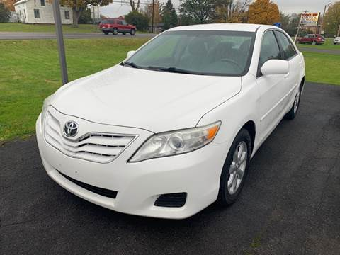 2011 Toyota Camry for sale at Paul Hiltbrand Auto Sales LTD in Cicero NY
