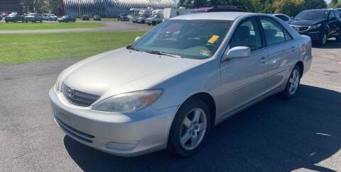 2004 Toyota Camry for sale at Paul Hiltbrand Auto Sales LTD in Cicero NY