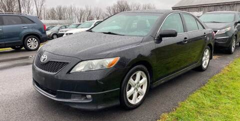 2009 Toyota Camry SE V6 for sale at Paul Hiltbrand Auto Sales LTD in Cicero NY