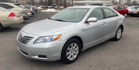 2007 Toyota Camry Hybrid for sale at Paul Hiltbrand Auto Sales LTD in Cicero NY