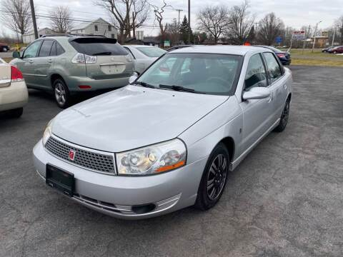 2005 Saturn L300 for sale at Paul Hiltbrand Auto Sales LTD in Cicero NY