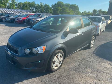 2014 Chevrolet Sonic for sale at Paul Hiltbrand Auto Sales LTD in Cicero NY