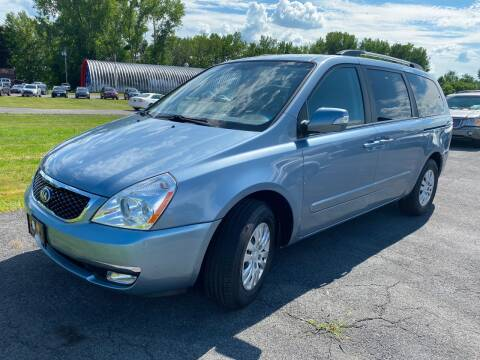 2014 Kia Sedona for sale at Paul Hiltbrand Auto Sales LTD in Cicero NY