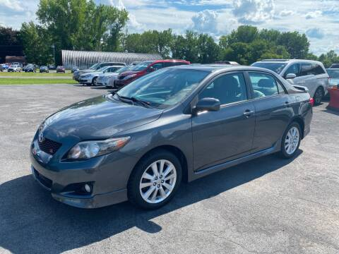 2010 Toyota Corolla for sale at Paul Hiltbrand Auto Sales LTD in Cicero NY