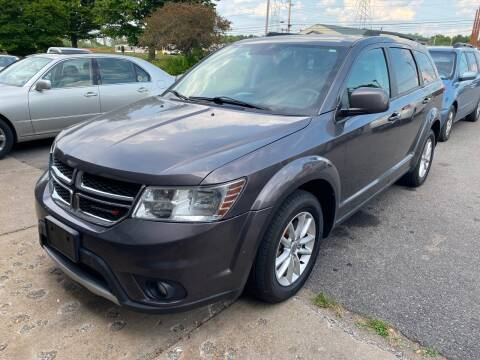 2015 Dodge Journey for sale at Paul Hiltbrand Auto Sales LTD in Cicero NY
