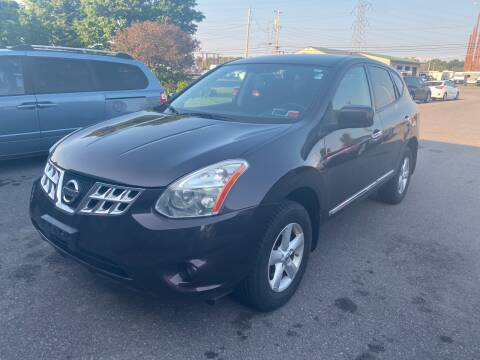 2013 Nissan Rogue for sale at Paul Hiltbrand Auto Sales LTD in Cicero NY