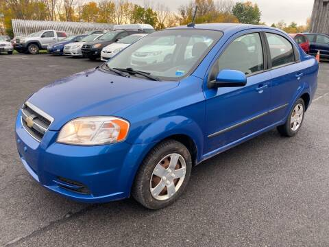 2010 Chevrolet Aveo for sale at Paul Hiltbrand Auto Sales LTD in Cicero NY