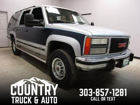 1993 GMC Suburban for sale in Fort Lupton, CO