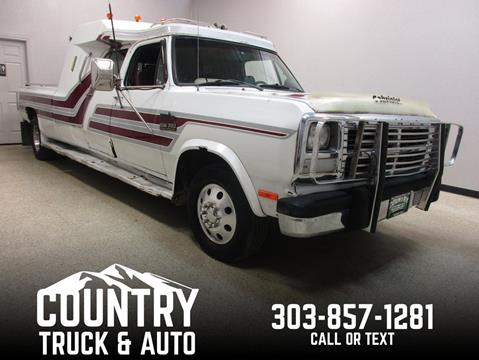 1991 Dodge RAM 350 for sale in Fort Lupton, CO