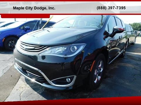 2018 Chrysler Pacifica Hybrid for sale in Hornell, NY