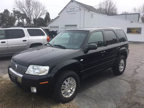 2007 Mercury Mariner for sale at Autos Unlimited, LLC in Adrian MI