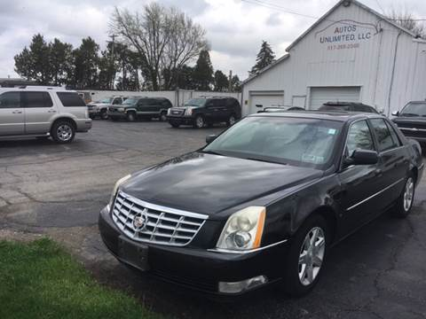 2006 Cadillac DTS for sale at Autos Unlimited, LLC in Adrian MI